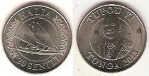 Каталог монет - монета  Тонга 20 сенити