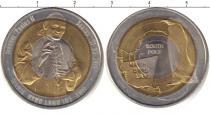 Продать Монеты Антарктика 10 долларов 2011 Биметалл