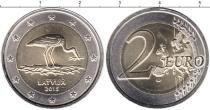 Каталог монет - монета  Латвия 2 евро