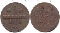 Каталог монет - монета  Гессен-Кассель 2 хеллера