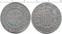 Каталог монет - монета  Каталония 1 песета