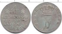Каталог монет - монета  Мекленбург-Шверин 4 шиллинга
