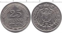 Каталог монет - монета  Пруссия 25 пфеннигов