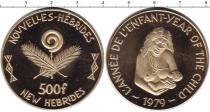 Каталог монет - монета  Новые Гебриды 500 франков
