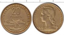 Каталог монет - монета  Сомалиленд 20 франков