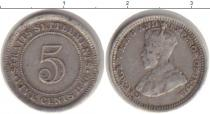 Каталог монет - монета  Стрейтс-Сеттльмент 3 пенса