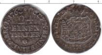 Каталог монет - монета  Саксония 1/24 талера