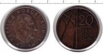 Каталог монет - монета  Норвегия 20 крон