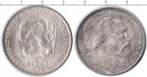 Каталог монет - монета  Чехословакия 100 крон