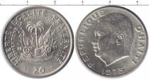 Каталог монет - монета  Гаити 20 сентим