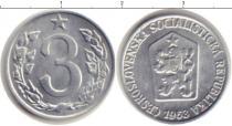 Каталог монет - монета  Чехословакия 3 хеллера