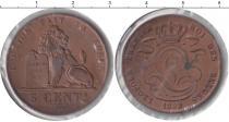 Каталог монет - монета  Бельгия 5 центов