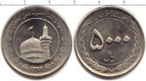 Каталог монет - монета  Иран 5000 динар