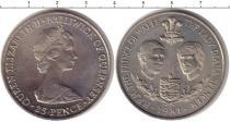 Каталог монет - монета  Остров Мэн 25 пенсов