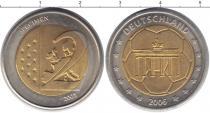 Каталог монет - монета  Германия 2 евро