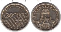 Каталог монет - монета  Словакия 20 евроцентов