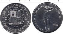 Каталог монет - монета  Андорра 25 динерс
