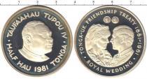 Каталог монет - монета  Тонга 1/2 хау