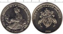 Каталог монет - монета  Теркc и Кайкос 5 долларов