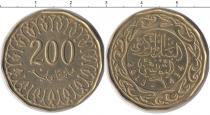 Каталог монет - монета  Тунис 200 миллим