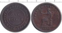 Каталог монет - монета  Британская Гвиана 1 стивер