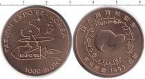 Каталог монет - монета  Корея 1000 вон