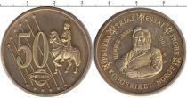 Каталог монет - монета  Норвегия 50 евроцентов