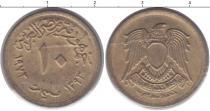 Каталог монет - монета  Египет 10 миллим