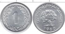 Каталог монет - монета  Тунис 1 сантим