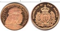 Каталог монет - монета  Сан-Марино 1/2 скудо