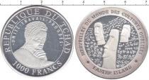 Каталог монет - монета  Чад 1000 франков
