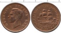 Каталог монет - монета  ЮАР 1/2 пенни