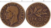 Каталог монет - монета  Албания 0,1 лек