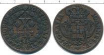 Каталог монет - монета  Азорские острова 10 рейс