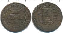 Каталог монет - монета  Бразилия 40 рейс