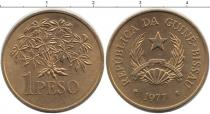 Каталог монет - монета  Гвинея-Бисау 1 песо