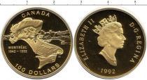 Каталог монет - монета  Канада 100 долларов