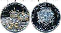Каталог монет - монета  Конго 1000