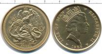 Каталог монет - монета  Остров Мэн 1 ангел