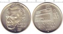 Каталог монет - монета  Словения 200 крон