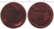 Каталог монет - монета  Тичино 6 денариев