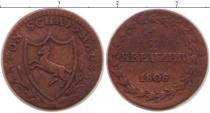 Каталог монет - монета  Шаффхаузен 1 крейцер