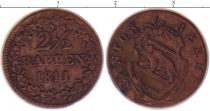 Каталог монет - монета  Берн 2 1/2 раппа