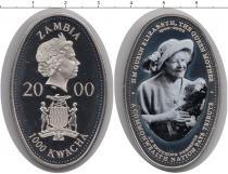 Каталог монет - монета  Замбия 1000 квач