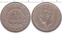 Каталог монет - монета  Восточная Африка 3 пенса
