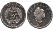 Каталог монет - монета  Тонга 20 сенти