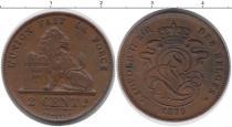 Каталог монет - монета  Бельгия 2 цента