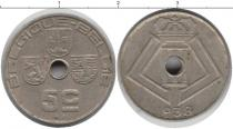 Каталог монет - монета  Бельгия 5 сентим