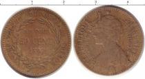 Каталог монет - монета  Мартиника 50 сантим