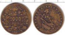 Каталог монет - монета  Бразилия 1000 рейс